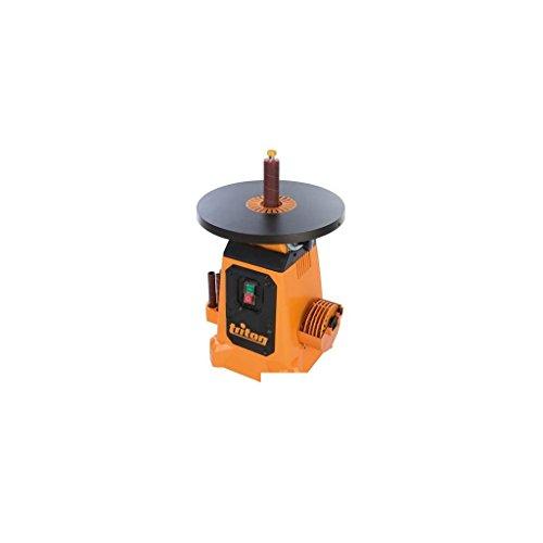Triton 622768 Spindelschleifmaschine mit Schwenktisch, 350 W, 380 mm TSPS370