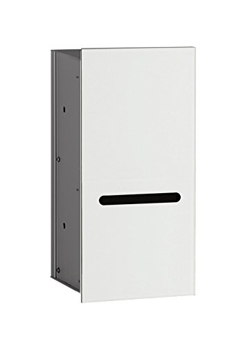 emco asis WC-Papier-Modul 2.0, rechts UP, 346mm, ohne Einbaurahmen, Optiwhite