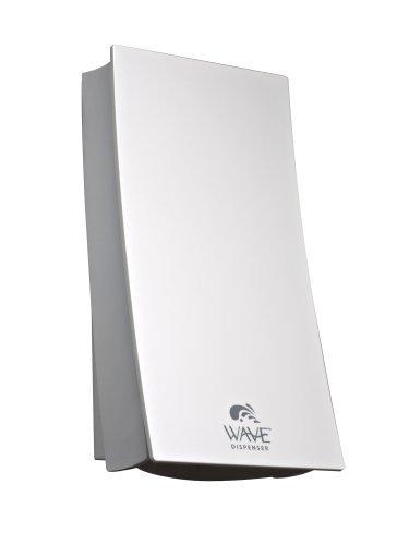 Mejor vida Wave dispensador de dispensar de ducha–acabado blanco–435ml