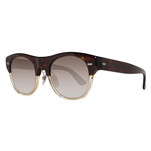 Gucci GG1088S X9QHA Sunglasses New - Size: 51--22--150 - Color: Dark Havana Honey