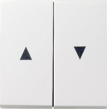 Preisvergleich Produktbild GIRA Serie Standard 55 - reinweiß glänzend (029403) Wippe Jalousie