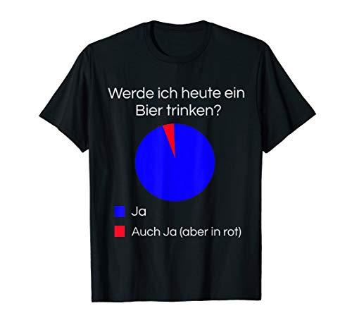 Lustiges Bier Shirt I Alkohol Trinken Party Fest Wein T-Shirt