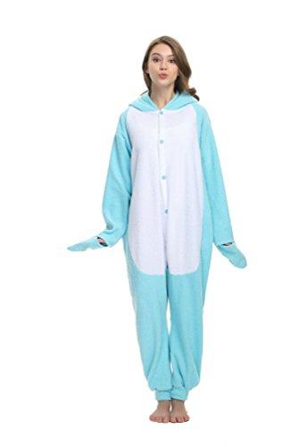 Fleece Adult Onesies Narwhal Pijamas Animal Kigurumi Ropa de Dormir