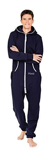 Moniz Jumpsuit, dunkelblau - 2