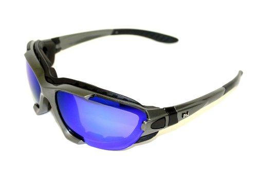 Navigator ice- occhiali sportivi, da bici e sci, lente uv400