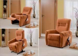 Relaxsessel elektrisch verstellbar  3-3-2-4-1168: TV-Sessel - Relaxsessel - Liegesessel - elektrisch ...