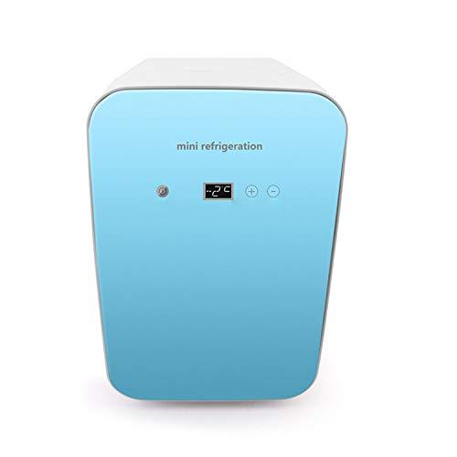 wangt Kühlbox 8L Auto Elektrische Kühlschränke 12 V / 220-240 V DC/AC Mini Kühlschränke Digitalanzeige Kühlschrank-für Camping Reisen