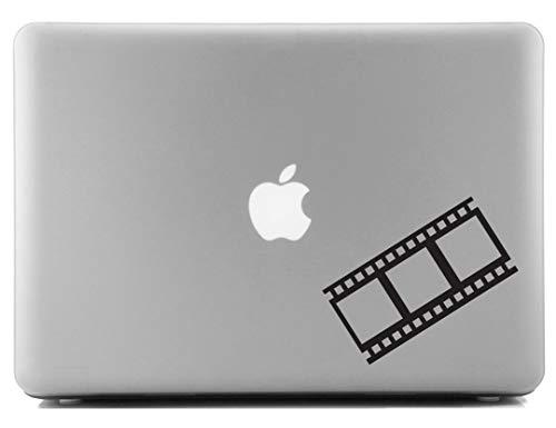 Dekorative Folien (LimelightVinyl.com Cinema Folie Streifen Dekorative Laptop Haut Aufkleber)