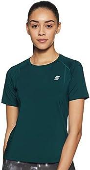 Amazon Brand - Symactive Women's Solid Slim Fit T-S