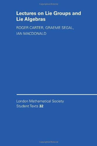 Lectures on Lie Groups and Lie Algebras (London Mathematical Society Student Texts) by M. Taylor (Foreword), Roger W. Carter (17-Aug-1995) Paperback
