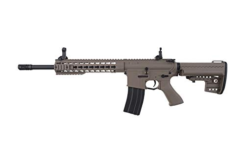 Cyma Airsoft- CM615 Desierto M4 Keymod Nylon-Color Desierto/Electric Fiber (1 Joule) - Semi/Full Automatic