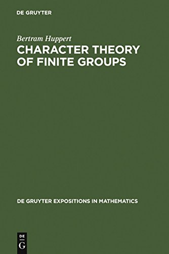 Character Theory of Finite Groups (De Gruyter Expositions in Mathematics Book 25) (English Edition)