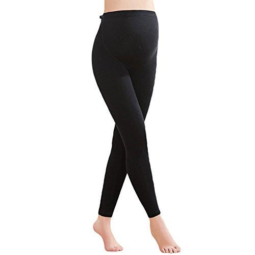 Umstands Leggings Umstandshose Jogginghose Schwangerschaftsleggings Skinny Hosen Wärmend Leggings Hose Schwarz / dicker Samt XL/60kg ()