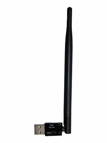 XORO HWL 155N WLAN USB Antenne für XORO SMART Receiver / Windows 10 / Linux / Raspberry Pi