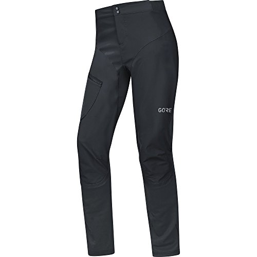 GORE Wear Winddichte Lange Herren Fahrrad-Hose, C5 GORE WINDSTOPPER Trail 2in1 Pants, L, Schwarz,...