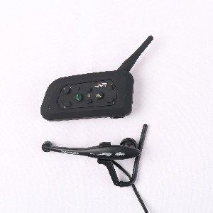 Preisvergleich Produktbild 1 Stück Schiedsrichter 2 Riders 1000M Bike-to-Bike-Helm Bluetooth Interphone unterstützt Paar mit anderen 5 Gegensprechanlagen separat in 5 Gruppen Sprech Diskussion (V6C2-1200M)