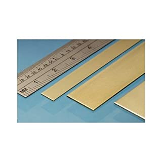 Albion Alloys Brass Strip , 25mm x 305mm (Pack of 3)