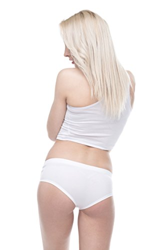 Damen Panties Hipster Unterhosen Shorts Fullprint One Size TOUCH ID
