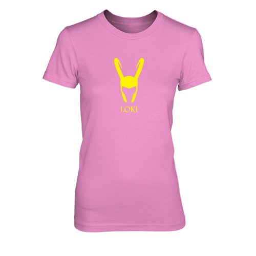 Loki - Damen T-Shirt, Größe: S, Farbe: (Loki Kostüm Cosplay)