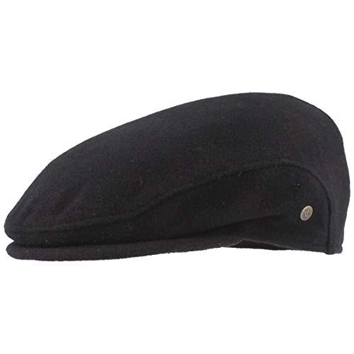 Hut Breiter Large - Uni d'oreille Protection Bonnet pour Homme avec Doublure intérieure Marine - Bleu -