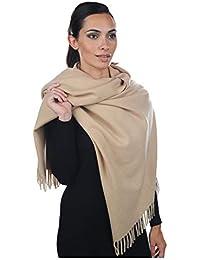 7489dc95e9f Accessoire Top Tendance Écharpe Femme Étole Pashmina Cachemire Foulard  Châle Automne – Hiver Touché Soyeux Couleur