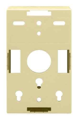 On-Q WP3409LA Single Gang Surface Mount Box, Light Almond by Legrand-On-Q Gang Surface Mount Box