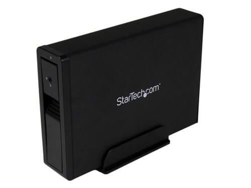 "StarTech.com USB 3.0 / eSATA Externes trägerloses Festplattengehäuse für 3,5"" SATA / SSD mit UASP - Schwarz"