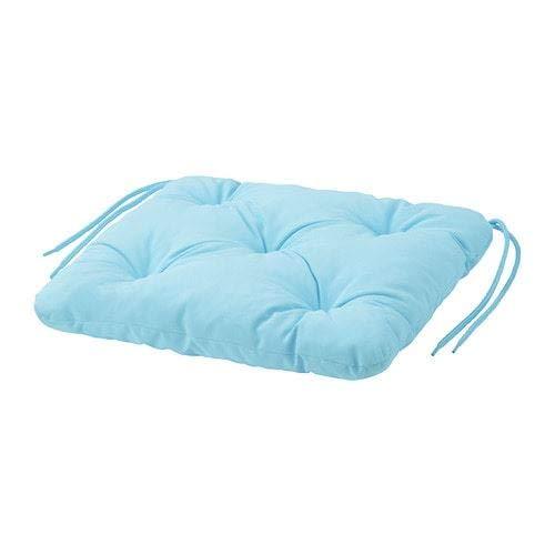 Ikea KUDDARNA - Cuscino per sedia da esterni Light Blue