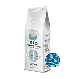 Vitoria Premium Organic Decaf Coffee Beans 500 g Swiss Water Decaffeinated   Honduras Single Origin