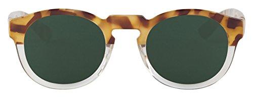 MR BOHO Unisex Sonnenbrille High Constrast Tortoise, Mehrfarbig, onesize