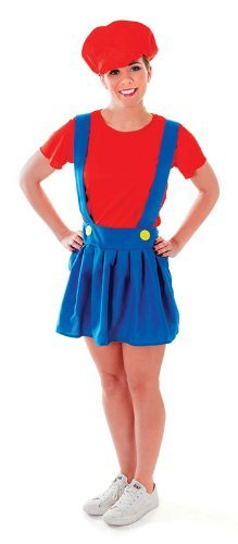 Pumber Lady - Adult Kostüm (Kostüme Mario Frauen)