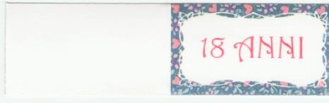 Vinciprova le gemme di venezia 30 bigliettini bomboniera 18 anni diciottesimo compleanno stampa personalizzata a colori in omaggio