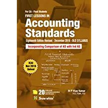 FIRST LESSONS IN ACCOUNTING STANDARDS