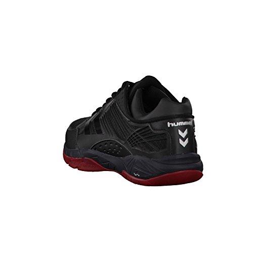 ... Hummel Omnicourt Z8, Chaussures de Fitness Mixte Adulte noir/rouge ...