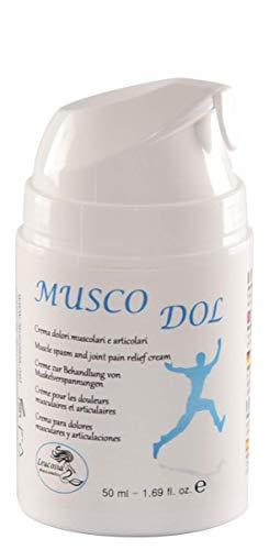 MuscoDol - Creme zur Behandlung von Muskelverspannungen und Gelenksschmerzen - 50 ml