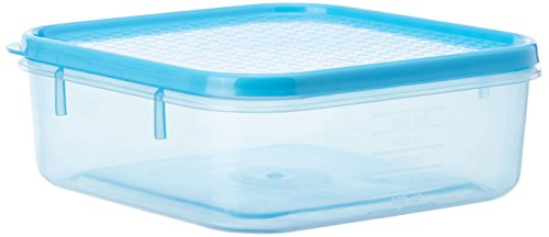 All Time Plastics Polka Container Set, Set of 4, Blue