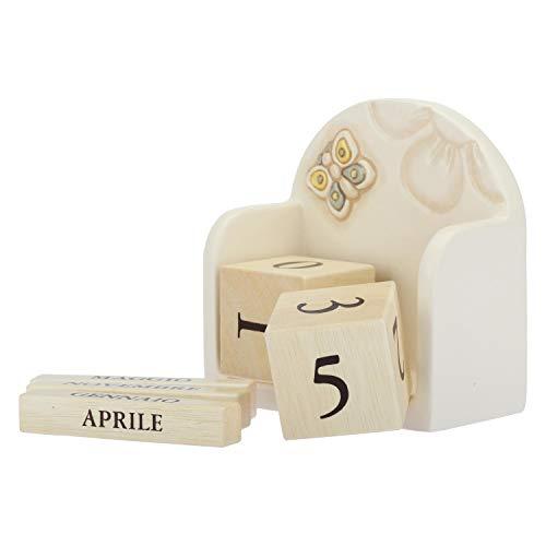 Thun Calendario.Thun Calendario Perpetuo Da Tavolo Elegance Ceramica