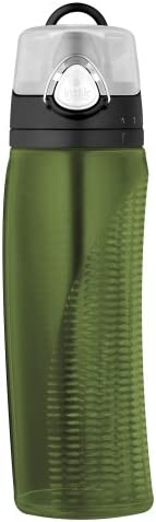 Thermos-Tritan Hydration Bottle with rotating intake meter- Green 710 ml