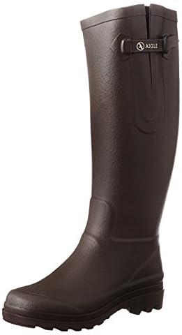 Aigle - Aiglentine - Botte de pluie - Femme - Marron (Brun) - 40 EU