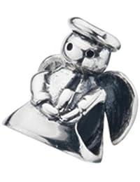 Virtue Silver Angel Bead