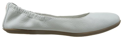 Softinos Ona380sof Smooth, Ballerines femme weiß