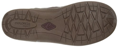 Easy Spirit Kamlet Rund Stoff Mode-Stiefeletten Dark Purple