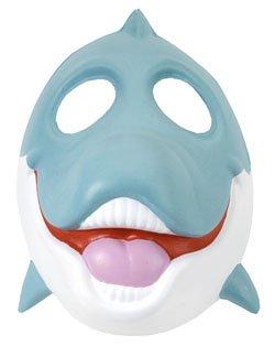 Wild Republic Europe ApS 14285 - Grinimals Maske für Kinder und Erwachsene, (Halloween Delphin Kostüme)