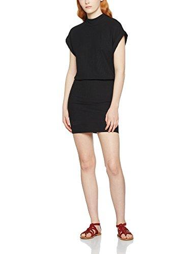 SELECTED FEMME Sfrasti Ss Dress, Vestito Donna Nero (Black)