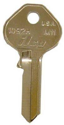 KABA ILCO M12-1092D Key Blank For Master Padlock Key Blank Equivalent of K150 by Kaba Ilco
