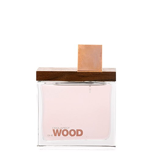 She Wood Eau de Parfum 100 ml Spray Donna