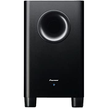 Pioneer S-21W Active Subwoofer with Downfire Bass Reflex Cabinet (100 Watt  RMS 54d2099cf521c