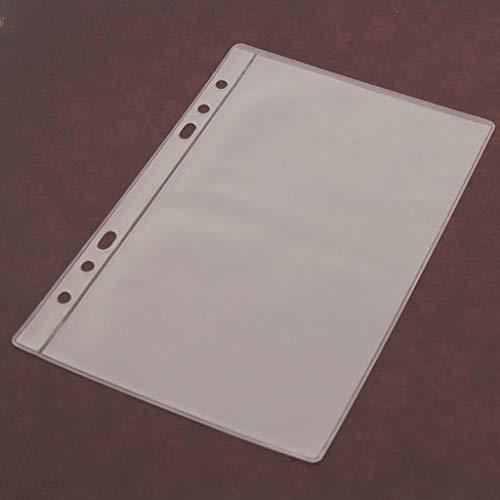 Kalttoy 5 Blatt 3 Arten Scrapbooking Aufbewahrung Stanzen, Transparent Weiß,14cmx19.5cm/5.51inx7.68in (1 Gitter)