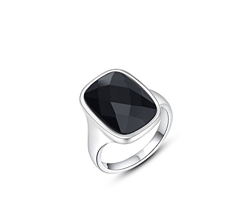 Silver Shoppee 'Mysterious love' High Quality Genuine Austrian Crystal Sterling Silver Unisex Ring