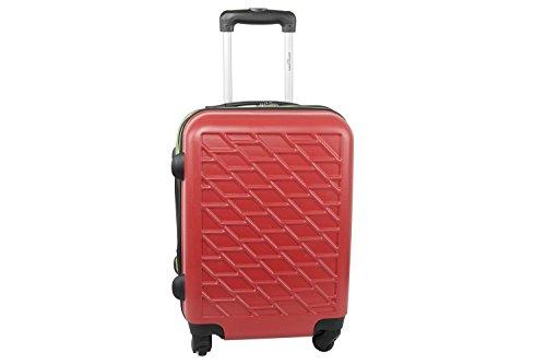 Maleta rígida PIERRE CARDIN rojo mini equipaje de mano ryanair S292
